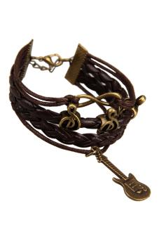 Guitar Braid Bracelet (Brown)