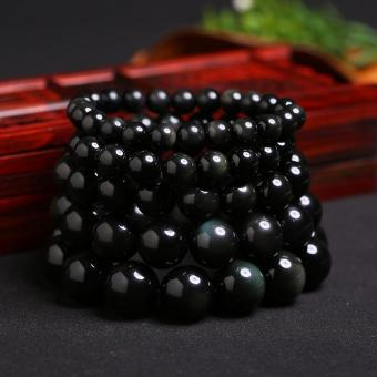 Handmade Obsidian 4mm Beads Bracelets Price Philippines
