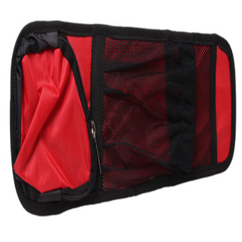 HANG-QIAO Car Auto Seat Side Pockets Bag (Red)