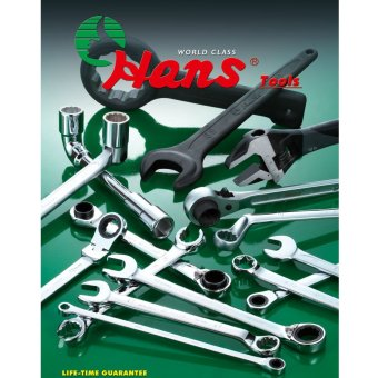 Hans Tools 16651MB Combination Ratchet Box Wrench Set (Silver) - picture 2
