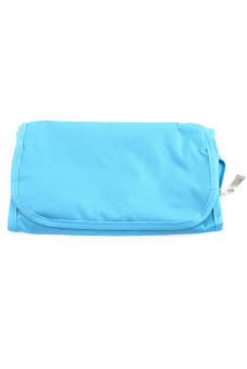 Hanyu Foldable Cosmetic Bag Blue - picture 2