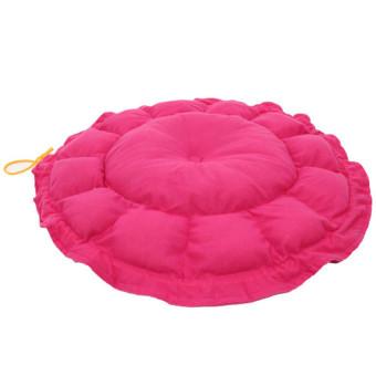 Hanyu Pet Cat Dog Beds House Kennel Nest Pad Mat (Rose) - 2