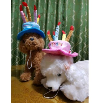 Happie Barkday Hat Cap Pet Dog Cat Birthday Hat