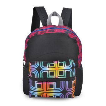 Happy Kids CRL-01 Kids School Bag Backpack (Black)