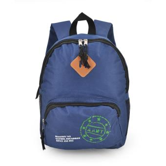 Happy Kids CRL-05 Kids School Bag Backpack (Navy Blue)