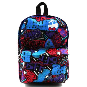 Happy Kids Stan Kids Unisex Backpack (Multicolor)