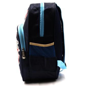 HAPPY KIDS Trendy Cute Unisex Kids Backpack Outdoor Bag (FiretruckDesign) - 3