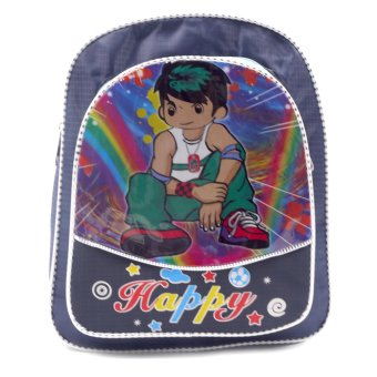 HAPPY KIDS Trendy Kids Backpack Outdoor Bag (Boy Design)