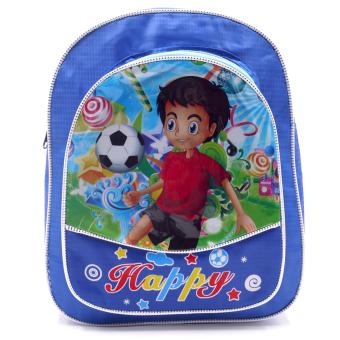 HAPPY KIDS Trendy Kids Backpack Outdoor Bag (Soccer Design)