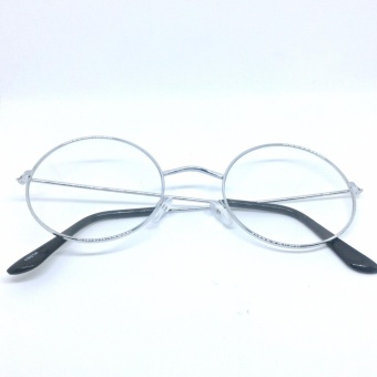 Harry Potter Clear Lens Fashionable Eyewear with Case (Silver) - 2
