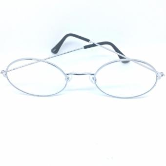 Harry Potter Clear Lens Fashionable Eyewear with Case (Silver) - 3