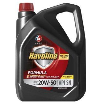 Havoline® Formula SN SAE 20W-50 4 Liters Motor Oil