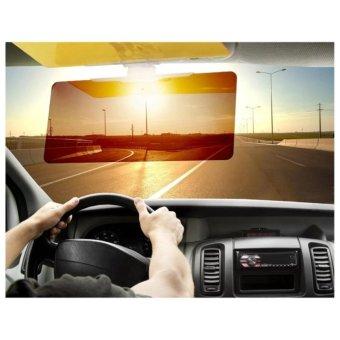 HD Vision Visor Car Driving Anti-Glaring Sun Visor Board Day andNight Visor - 3