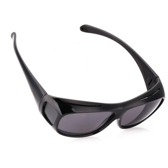 HD Yellow Lens Polarized Sunglasses Night Vision UV400 Glasse For Driving Sports - intl - 4