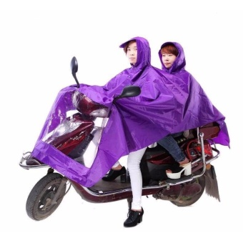 Heavy Duty Motorcycle Cycle Scooter Waterproof Double RainCoat