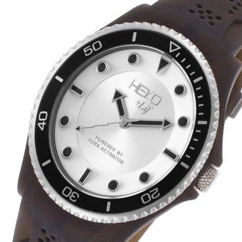 Heko +Life Analog Men's Black Resin Strap Watch HG1001BK - 2