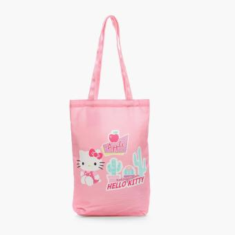 Hello Kitty Girls Holiday Dream Tote Bag (Pink)