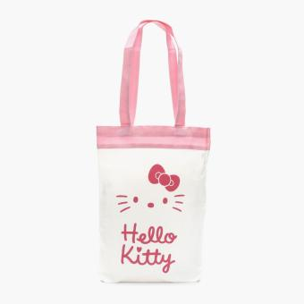 Hello Kitty Girls Tote Bag (White)