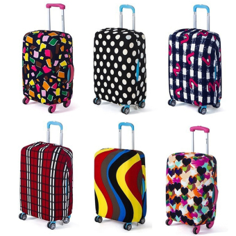 HengSong Travel Luggage Dust Cover Antifouling Suitcase Protective Cover Number Pattern S for 18-20 Inch S Size - intl