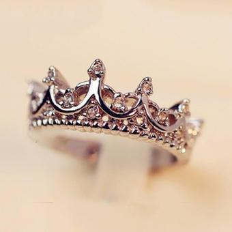 Hequ ring South Korea imported palace restoring ancient ways is thequeen s temperament Woodwork crown The tail Rose Gold - intl Price Philippines