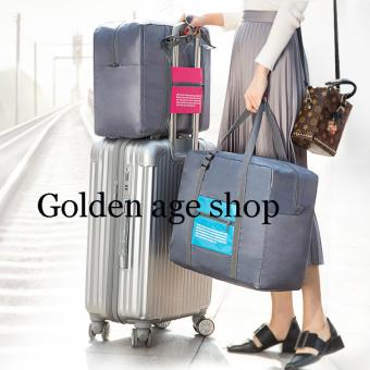 Hermes% 3 in 1 BIG Waterproof Nylon Folding Foldable Home TravelPackage Unisex Storage Bag Multifunction Dufful Clothes OrganizerStorage, Sports Gear Gym - 3