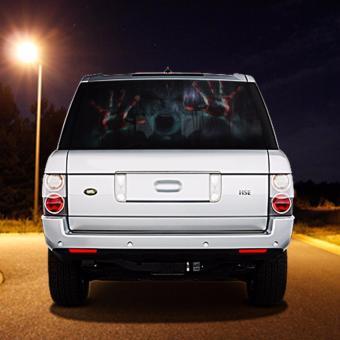 Rear Window Sticker Kamos Sticker - Car rear window stickers