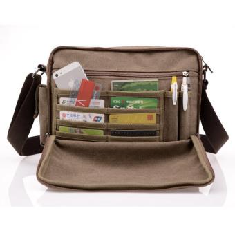 High Quality Multifunction Men Canvas Bag Casual Travel Bolsa Masculina Men's Crossbody Bag Men Messenger Bags - 3