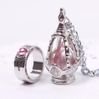 High Quality Store New New Puella Magi Madoka Magica Soul GemNecklace + Ring Cosplay Set 5 Color Price Philippines