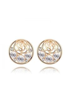 HKS HKS3420QS Earrings White - Intl
