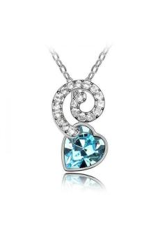 HKS HKS6878Qs The Snow Queen Austria Crystal Necklace Ocean Blue - Intl - picture 2