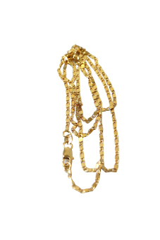 HKS Yellow Gold Filled Rolo Chain Necklace - Intl - picture 2