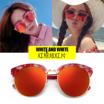 HONRN Korean-style female network celebrity inspired SUN glasses sunglasses