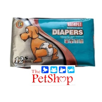 Hush Pet Dog Disposable Diapers (S 12'S Breathable)