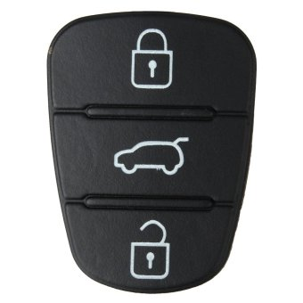 Hyundai i20 i30 3 Button Remote Key Fob Rubber Pad repair - intl