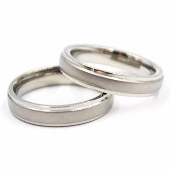 I am Wengski Cornelius Couple Wedding Ring (Silver)
