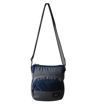 ILLUSTRAZIO High Density Sling Bag (Grey Blue)