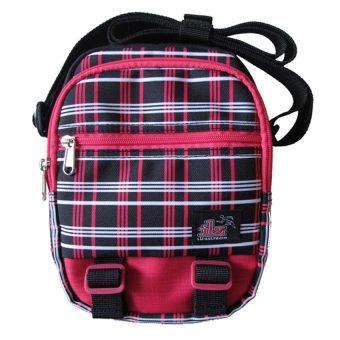 ILLUSTRAZIO Sling Bag (Checkered Red)