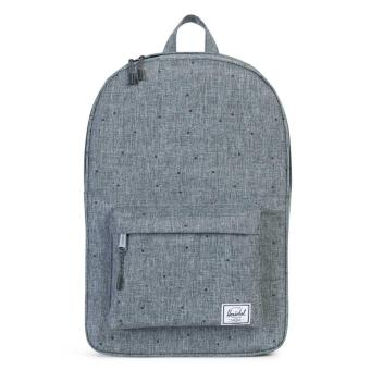 Harga Herschel Supply Co. Settlement Mid-Volume Laptop Backpack (Scattered Raven Crosshatch)