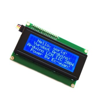 Harga Fang Fang LCD Module Display Blue Backlight For Arduino (Blue)