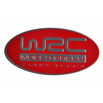 Harga WRC World Rally Car Alloy Emblem Red