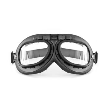 Bertoni AF195A Motorcycle Black Leather Anti Fog Riding Goggles Price Philippines