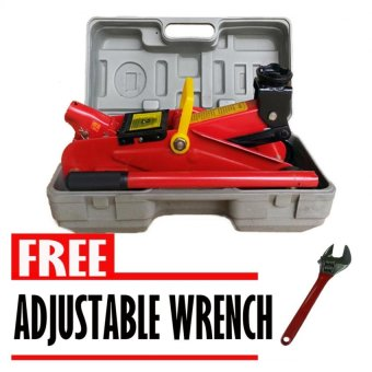 Harga Prostar 2 Ton 300 mm Max Lift Height Floor Jack in Case for Sedans with Free Adjustable Wrench
