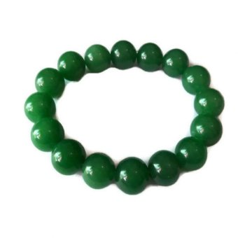 Harga Be Lucky Charms Feng Shui Jade Big Bead Bracelet