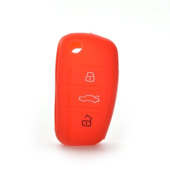 Jetting Buy Car Key Case Cover Silicone For Audi A3 A4 A6 Tt Q7 R8 Red Price Philippines