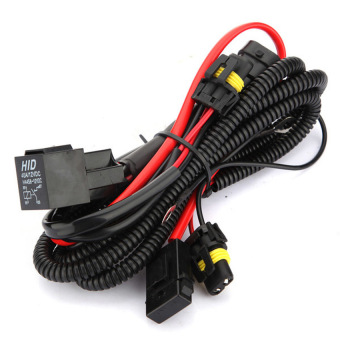 Xenon HID Conversion Kit Relay Wiring Harness For H1 H7 H8 H9 H119005 9006 5202 - Intl Price Philippines