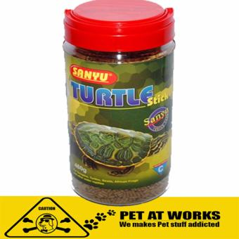 Sanyu Turtle Sticks (460g) For Reptiles, Amphibians and Turtle Food Pellets Price Philippines