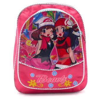 HAPPY KIDS Trendy Kids Girls Backpack Outdoor Bag (Happy Girls Design) Price Philippines