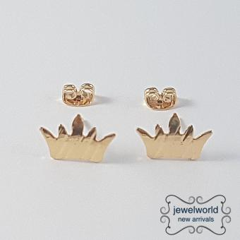 Jewelworld Crown Bangkok Plated Earrings (gold) Price Philippines