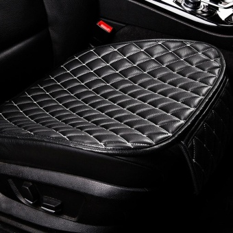 Harga Universal Four Season Skid Resistance Car Seat Cushion Vehicle Single-seat Mat(WHITE AND BLACK)(...) - intl