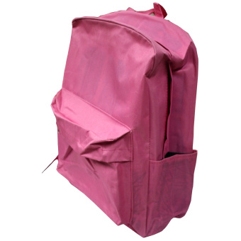 Back Pack School Bag Thick (Pink) Price Philippines